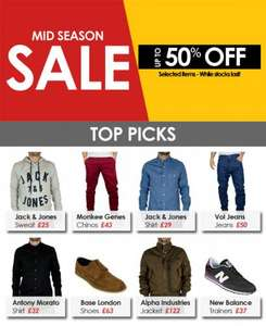 Mid-Season Sale - upto 50% off @ Stand-Out.net