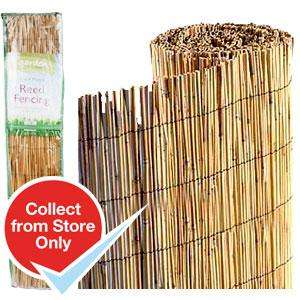Reed Garden fencing/screening 1m x 4m (Home Bargains instore) from £3.99