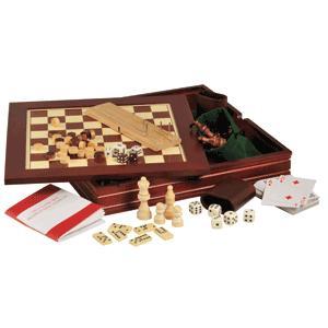 7-In-1 Wooden Game Set only £6.99 delivered @ Readers Digest