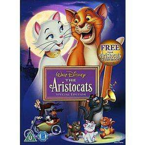 The Aristocats [Special Edition] - DVD £5 delivered @ Asda