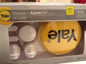 Yale Wireless Standard Alarm HSA-6200 £37.00  Instore @Tesco