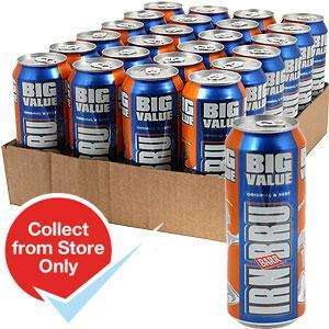 Irn-Bru Big Can (Case of 24 x 500ml Cans) £11.76 @ Home Bargains