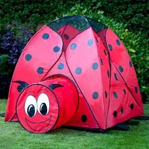 Animal Play Tent, Ladybird, Frog and Tiger £9.99 Each B&M