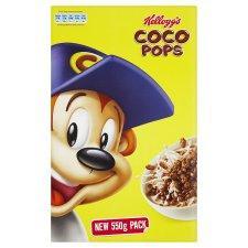 Kelloggs Coco Pops 550G Half Price £1.34 @Tesco
