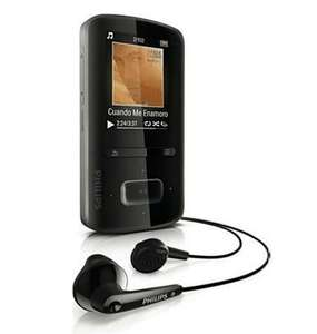 Philips GoGear Vibe 8GB MP3 player with FM Radio £29.99 @ Philips Online Shop UK