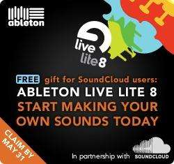 Free copy of Ableton Live Lite until 31st May with Soundcloud