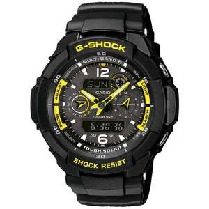 Casio G-Shock Gw-3500B-1AER Tough Solar Radio Synchronized Watch 126.40 Amazon