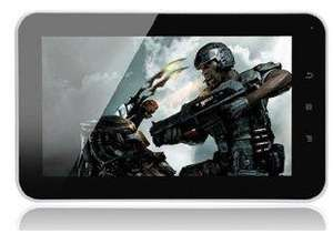 """7"""" Android 4 Ultra-thin Tablet PC - 8GB (1.2Ghz - 1GB DDR2 - Mali 400 - ICS 4.0)  £76.49 Delivered  @ Gizzmoheaven"""