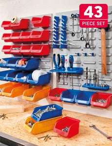 Organising and Storage Set - 43 Pieces @ Lidl £19.99