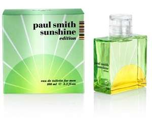 Paul Smith Sunshine 2012 Eau de Toilette Men 100ml Only £20.80 was £26 free store collection @ Boots