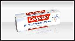 Free Sample of Colgate Sensitive Pro-Relief toothpaste