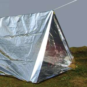 Outdoor Solutions Emergency Shelter Tent £1 @ Poundland