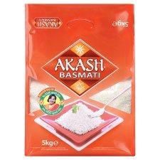 Akash Basmati Rice 5Kg - 2 for £9 - Tesco