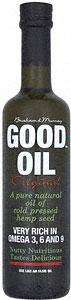 Good Oil (Hemp Seed Oil) - 500ml £4.49 @Sainsburys & Waitrose (Normally £5.99)
