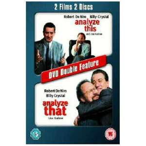 Analyse This/Analyse That - 2 films, 2 discs - £ 1.92 play.com