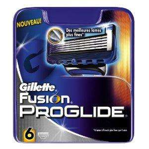 Gillette Fusion ProGlide Razor Blades - 6 for £5 in Asda