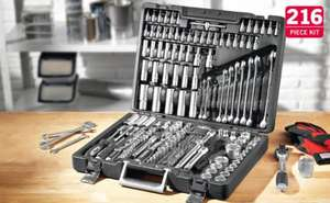 Tool Kit - 216 Pieces £69.99 @ Lidl from 21/05/12