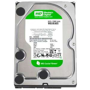 Western Digital WD20EADS Caviar Green 2TB SATAII 32MB Cache 3.5 Inch Green Power Oem Internal Hard Drive £73.92 Platinum Components Ltd and Fulfilled by Amazon