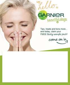 Garnier Intensive 7 days Free Sample pack