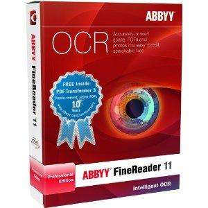 ABBYY FineReader 11 OCR Pro Anniversary Edition Includes Free PDF Transformer 3 £49.98 Delivered @ Tifili