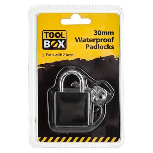 Waterproof Padlocks  £1 @Poundland (not pondland)