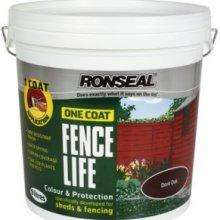 Ronseal One Coat Fencelife 5 Litre - £2.50 at Morrisons INSTORE