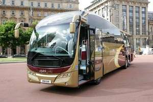 Citylink Gold - deluxe bus travel Aberdeen to Glasgow, some seats £5