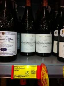 CHATEAUNEUF DU PAPE red wine - £8 Instore @ ASDA