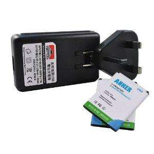 Samsung galaxy s2. 2x extended battery 1900mAh + charger made by Anker - £12.99 @ Amazon