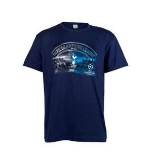 Spurs Tottenham Champions League T-Shirt £1