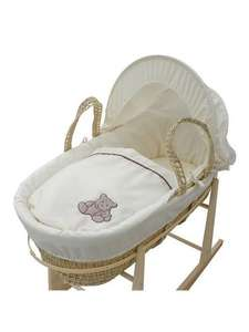 Moses basket was £25 now £15 ASDA!