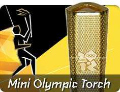 Save £50,000 buying an Olympic Torch on eBay - £9.99 +  £4.95 P&P buy a mini one for a tenner from Corgi!..