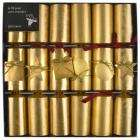 6 Fill Your Own Gold Crackers - £3 delivered from John Lewis
