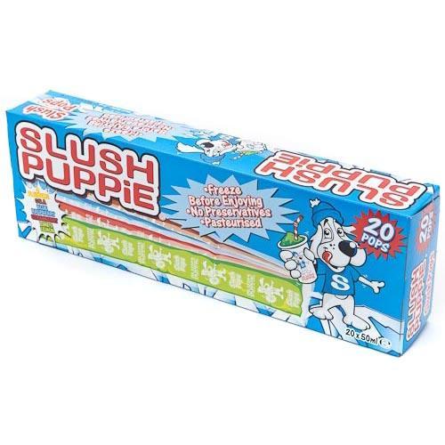 20 x slush puppie iced poles £1 instore poundland