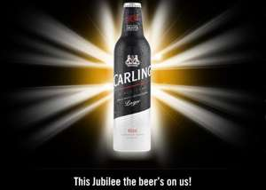 """Free Carling (up to 105!) for anyone hosting a """"Big Lunch Jubilee Event"""""""