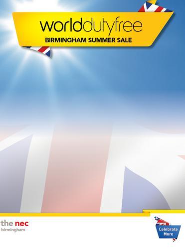 "FREE tickets -  ""World Duty Free Sale"" - NEC Birmingham"