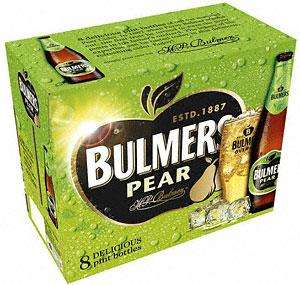 Bulmers Pear & Original 8 x 568ml £6.89 @ Sainsburys