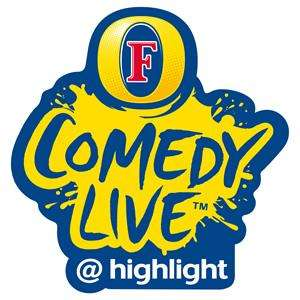 All Fosters Comedy Live Tickets - £6 for Couple or £10 for Group of 4 (With Code + £1pp Booking Fee) Every Friday & Saturday Night Until 21/07 @ thehighlight.co.uk