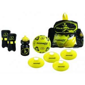 Kickmaster Backpack Training Kit - Black/yellow now £10.00 del @ Duncans Toy Chest