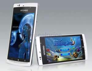 4.0 OLED Capacitive Android 4.0 3G Smartphone with WI-FI, JAVA, TV (White) @Focalprice.com