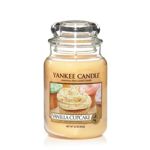 Yankee Candle: Vanilla Cupcake Large Jar - play.com £12.99