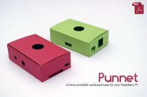 "DIY Raspberry Pi  ""Punnet"" Card Case/Housing Printable Template (PDF)"