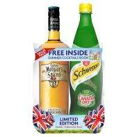 captain morgan spiced rum with canada dry mixer £12 at asda