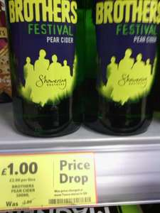 Brothers Festival 7% pear cider 500ml bottle £1 @ Tesco