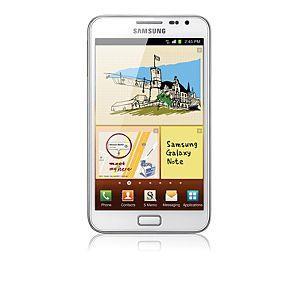 White Samsung Galaxy Note at Asda (unlocked, sim free) - £369