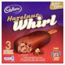tesco limited edition cadbury hazelnut whirl....better than half price - £1