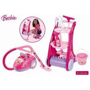 Barbie Cleaning Trolley inc Vacuum rrp £39.99 now £15.35 del @ Amazon