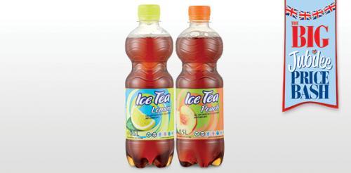 Ice Tea Lemon/Peach 6 x 500ml bottles for £1.99 @ Aldi
