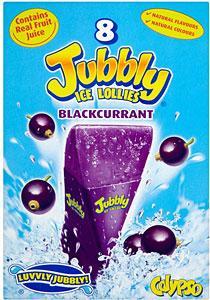 Calypso Jubbly Ice Lollies Blackcurrant 8 x 62ml was £1.44 now £1.00 @ Tesco