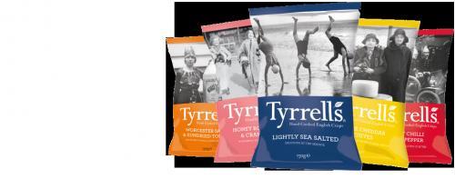 150g Tyrrells hand cooked english crisps - £1 @ Notcutts